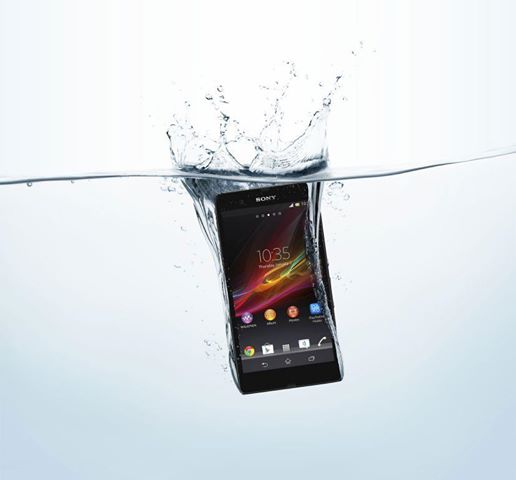Waterproof phone unveiled by Sony - you can use in the shower - Premium Softwares